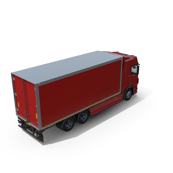 Generic European Box Truck