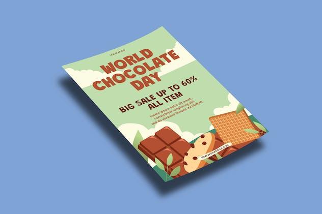World Chocolate Day Celebration – Flyers Template