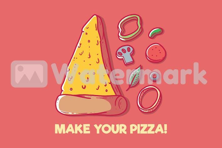 Сделай свою пиццу!