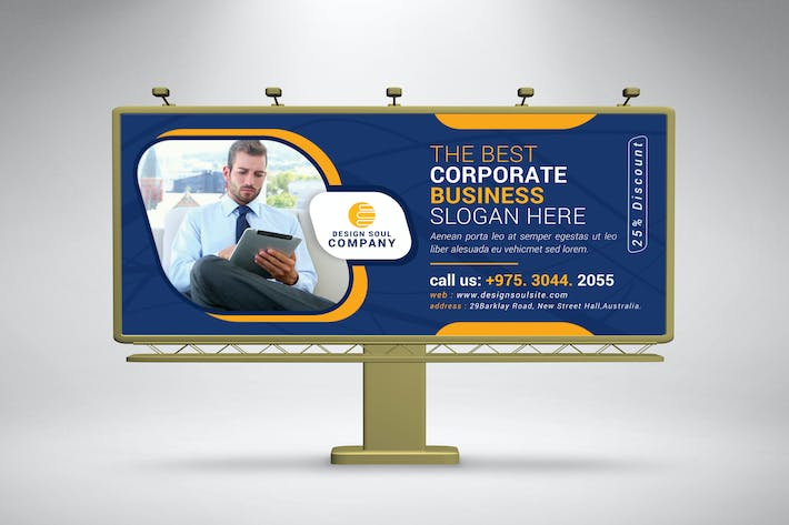 Thumbnail for Corporate Billboard
