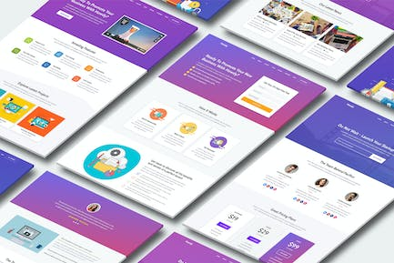 Howdy - High-Converting Landing Page Template