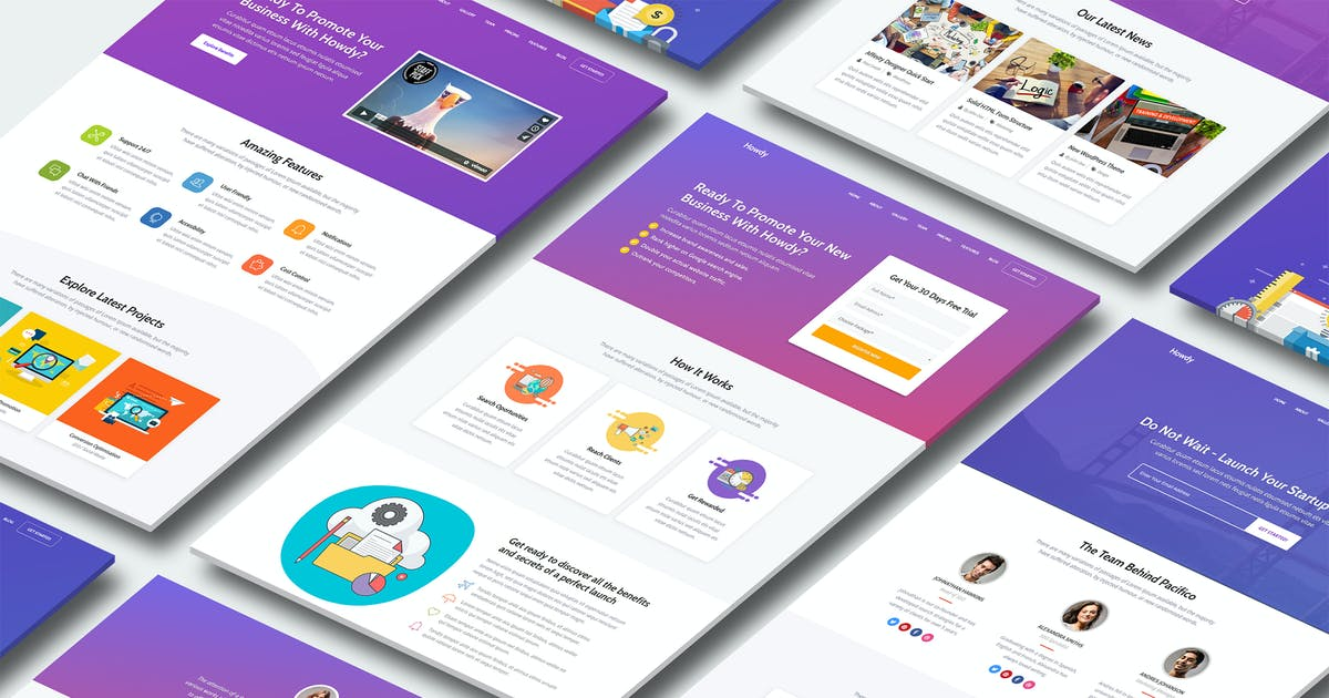 Download Howdy - High-Converting Landing Page Template by Epic-Themes