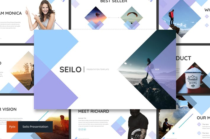 Seilo Vacation Powerpoint Template by inspirasign on
