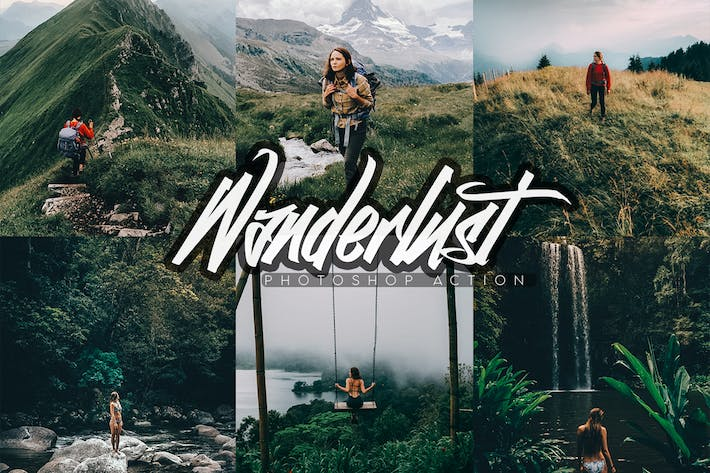 Thumbnail for Wanderlust Photoshop Action