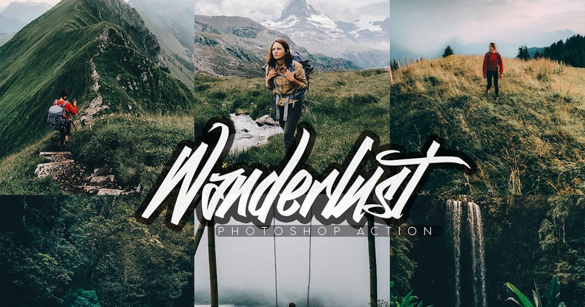 Download Wanderlust Photoshop Action by SupremeTones