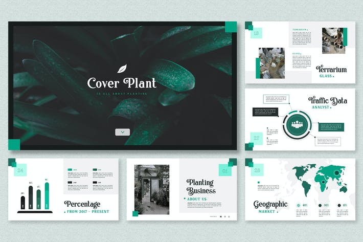 Thumbnail for Modern Minimalist Theme - Planting Business