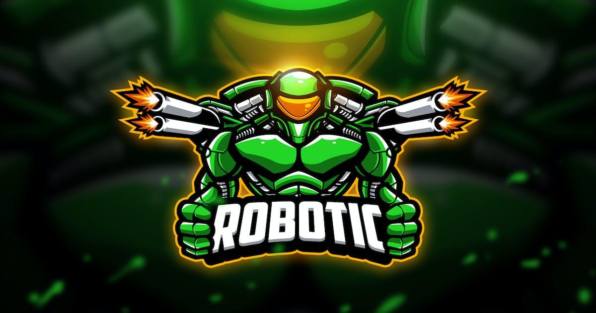 Download Robotic - Mascot & Esport Logo by aqrstudio