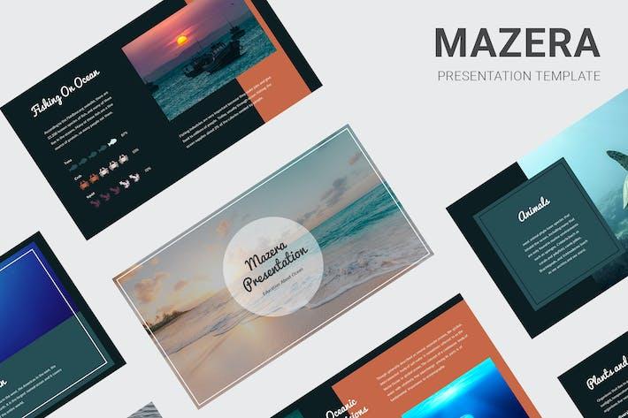 Mazera - Изучение океана Keynote
