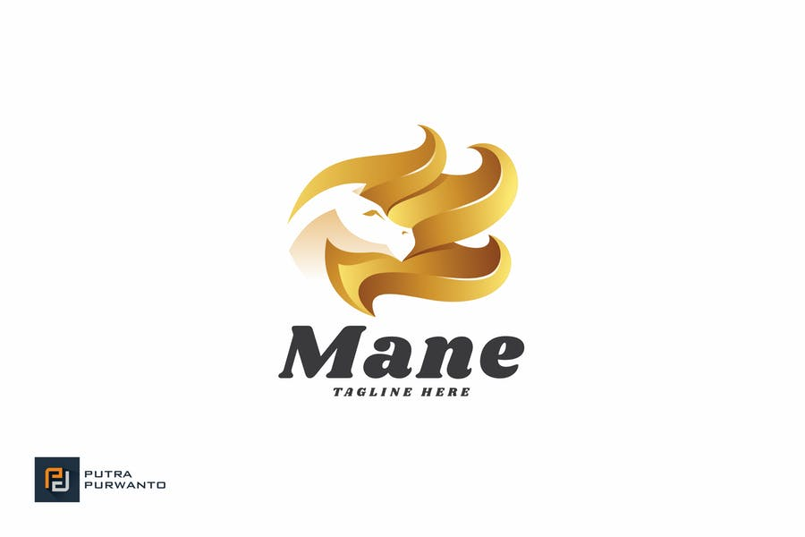 Horse Hair - Logo Template