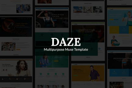 DAZE - Шаблон идеального бизнес-музы