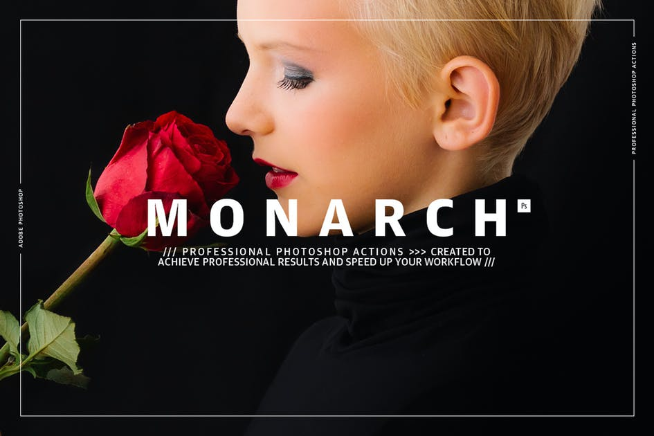 Download Monarch Photoshop Actions by GOICHA