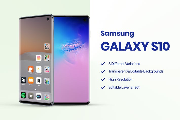 Cover Image For Samsung Galaxy S10 Mockup 1.0