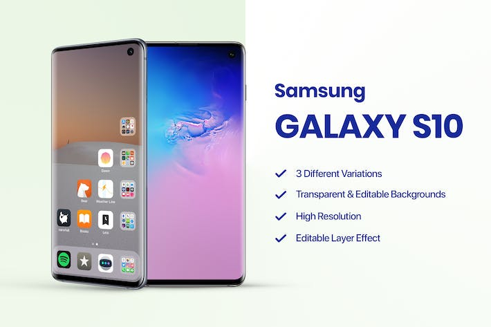 Thumbnail for Samsung Galaxy S10 Mockup 1.0
