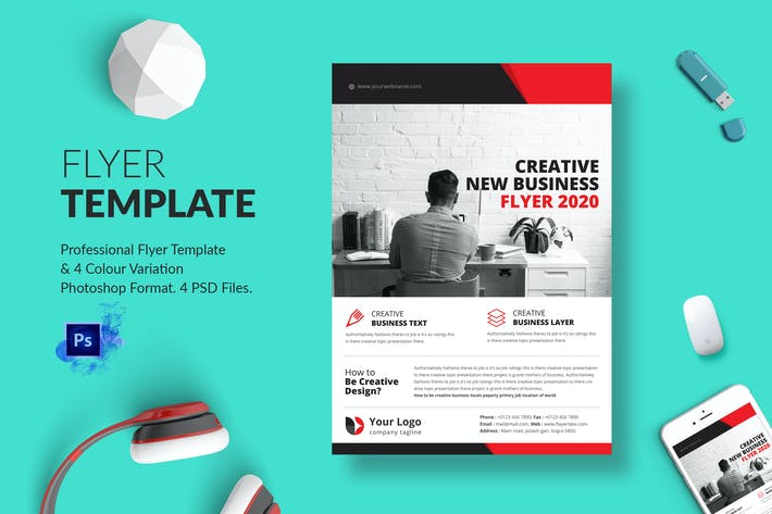 Thumbnail for Business Flyer Template 10
