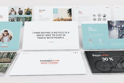 Bicycle Google Slides Presentation Template