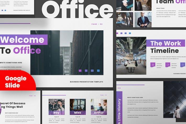 Thumbnail for Шаблон презентации слайдов Google Office для бизнеса