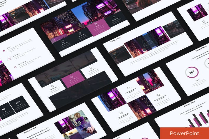 Thumbnail for Clean Presentation Powerpoint