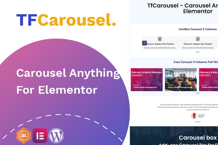 Elementor Carousel - Create slider with any addon,