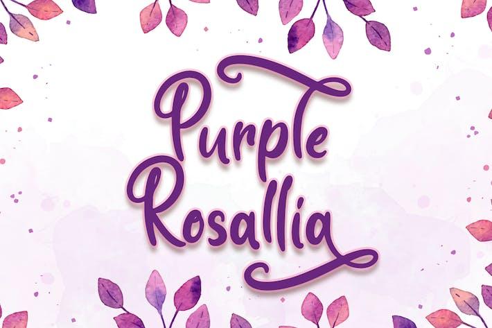 Rosallia púrpura - Fuente de boda