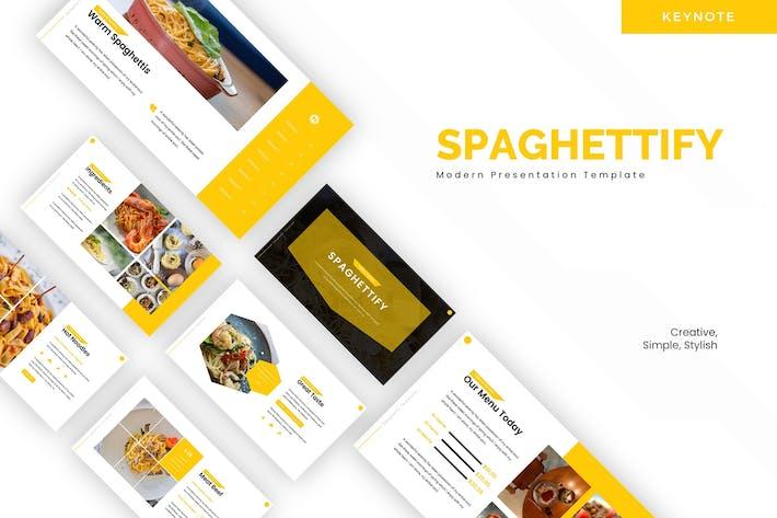 Thumbnail for Spaghettify - Plantilla de Keynote