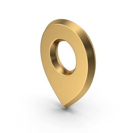 Travel Pin Gold