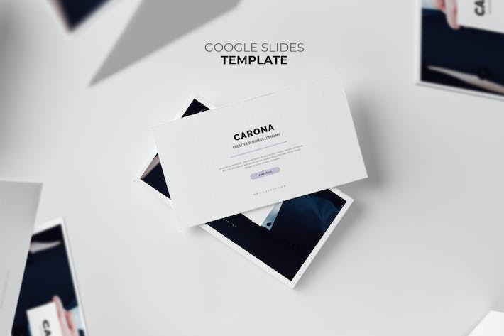 Thumbnail for Carona : Modern Company Profile Google Slides