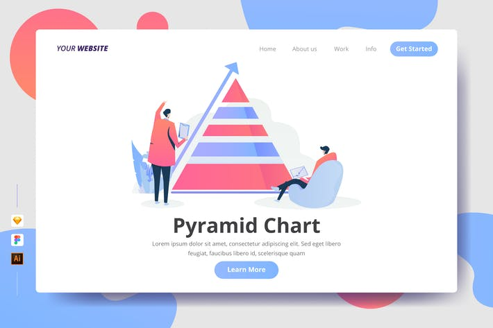 Thumbnail for Pyramid Chart - Landing Page