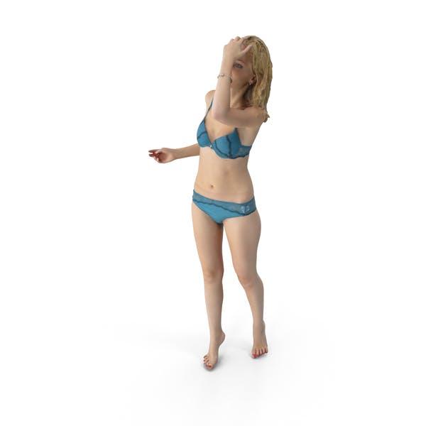 Thumbnail for Повседневная женщина в нижнее белье