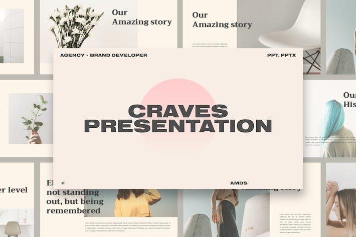 Thumbnail for Craves - Brand Developer Presentation