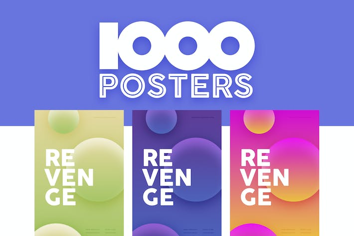 Thumbnail for 1000 Poster Templates
