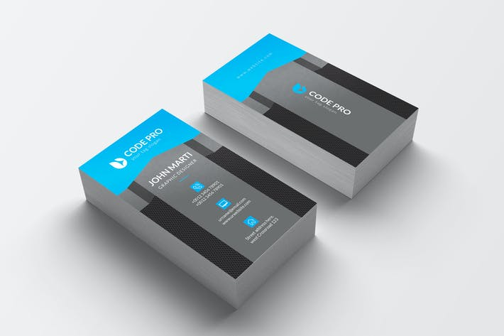Thumbnail for Business Card Template 07