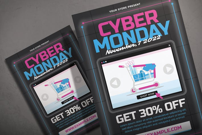 Cyber Monday - Flyer Template