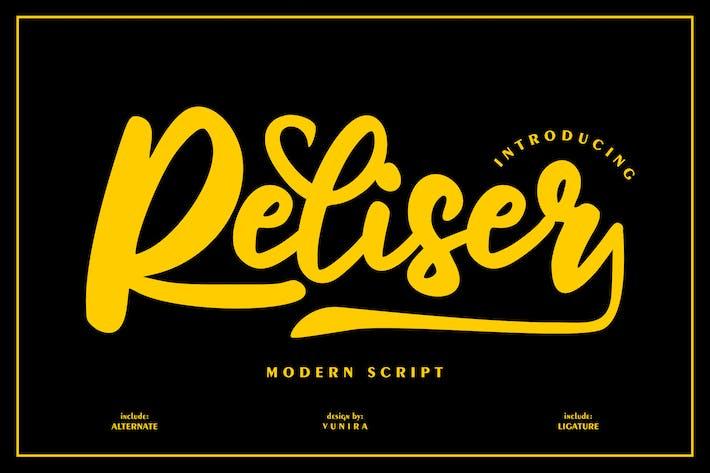 Thumbnail for Reliser   Modern Script