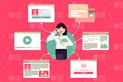 Online Call Center