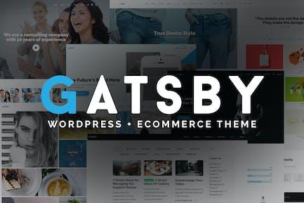 Gatsby - WordPress + eCommerce Tema