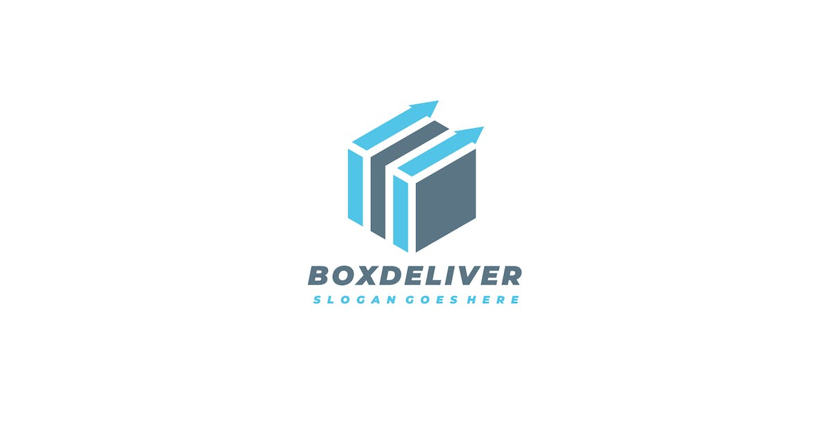 Download Box Delivery Logo by 3ab2ou