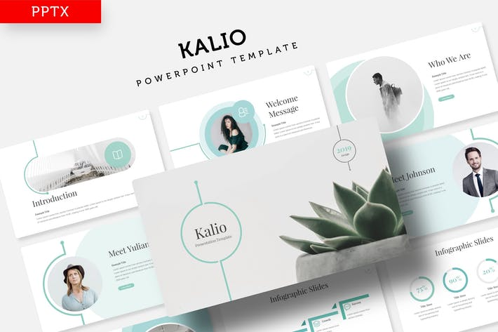 Thumbnail for Kalio - Power Point Template