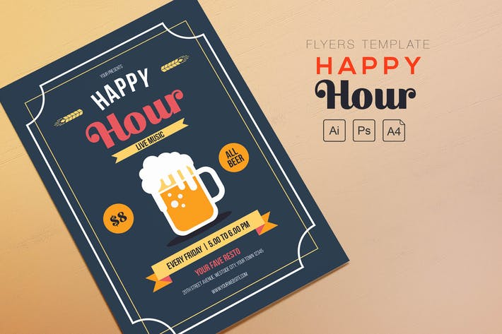 Thumbnail for Happy Hour Beer Flyers