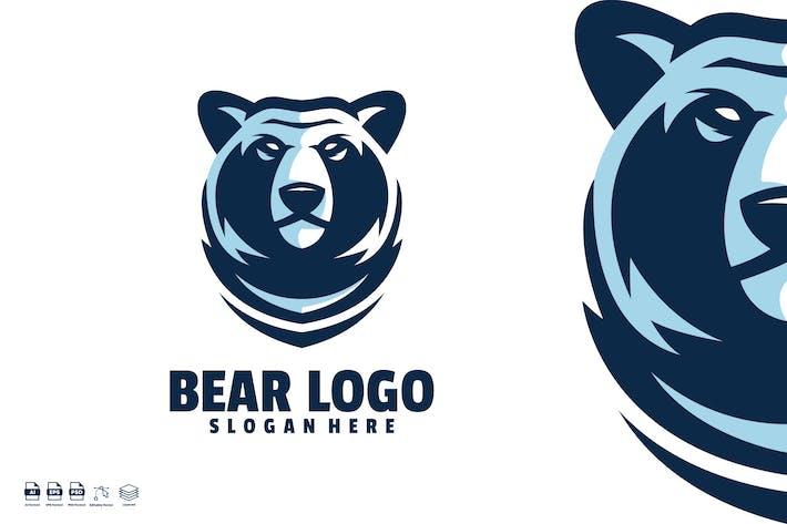 Thumbnail for Bear logo template
