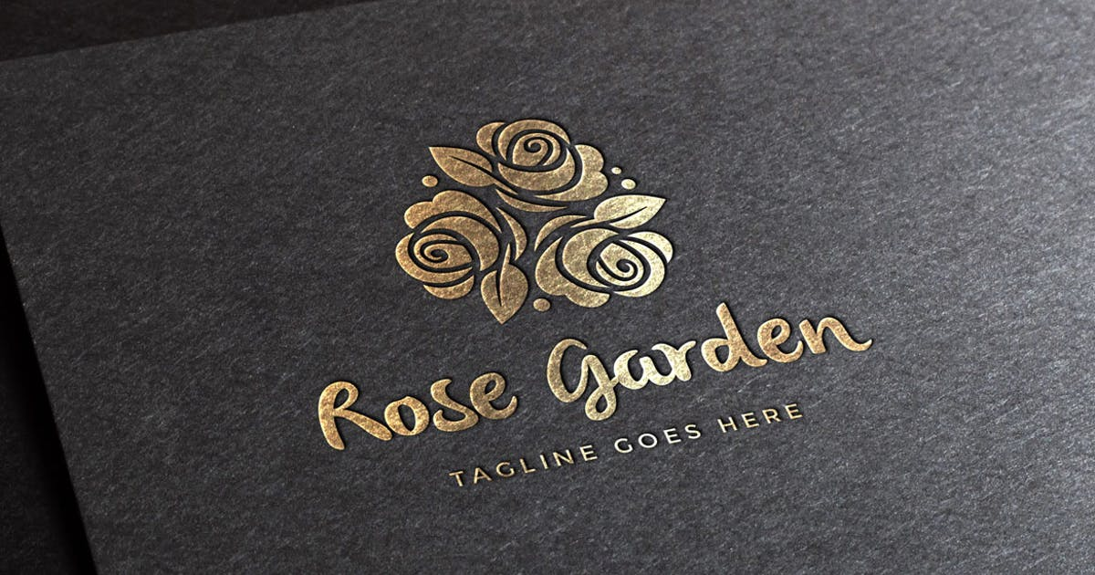 Download Rose Garden Logo Template by empativo