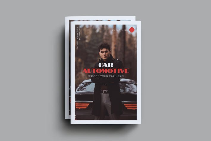 Thumbnail for Car Automotive Brochure