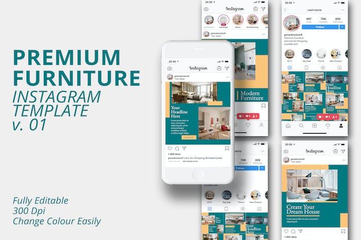 MS - Premium Furniture Instagram Template Vol.1