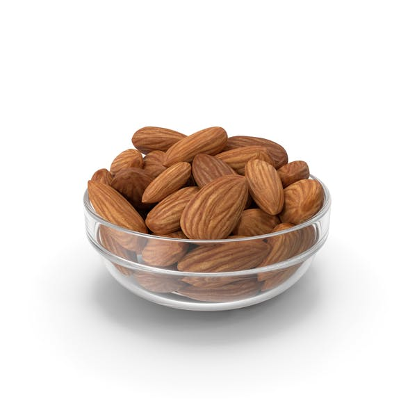 Thumbnail for Almonds in Glass Bowl