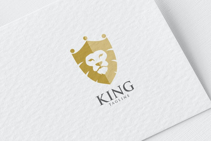 Thumbnail for King Lion Shield Logo