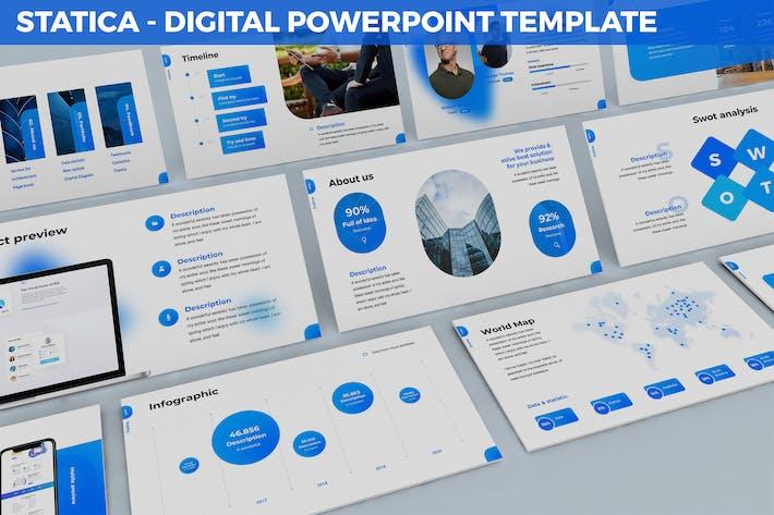 Statica - Digital Powerpoint Template