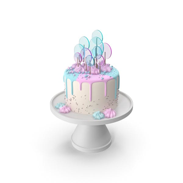 Thumbnail for Pastel Cake eith the Decor of Round Lollipop