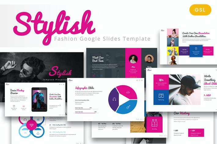 Cover Image For Stylish - Fashion Google Slides Template