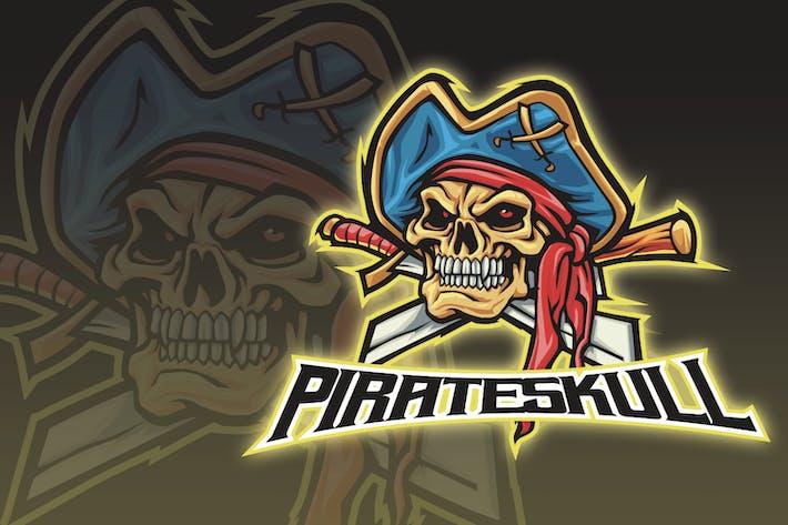 Thumbnail for Demon Pirates Esport Logo