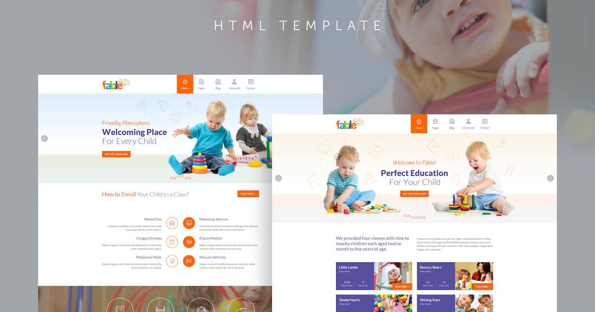 Download Fable - Children Kindergarten Template by QuanticaLabs
