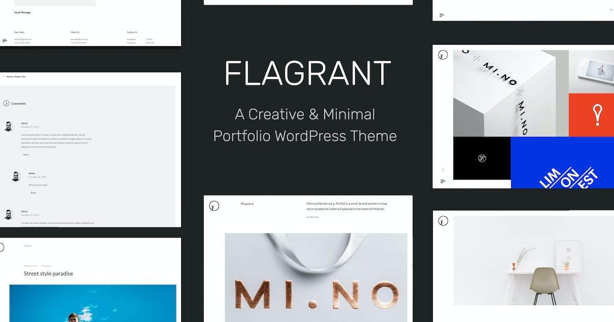 Download Flagrant - A Creative Portfolio WordPress Theme Fo by tommusrhodus